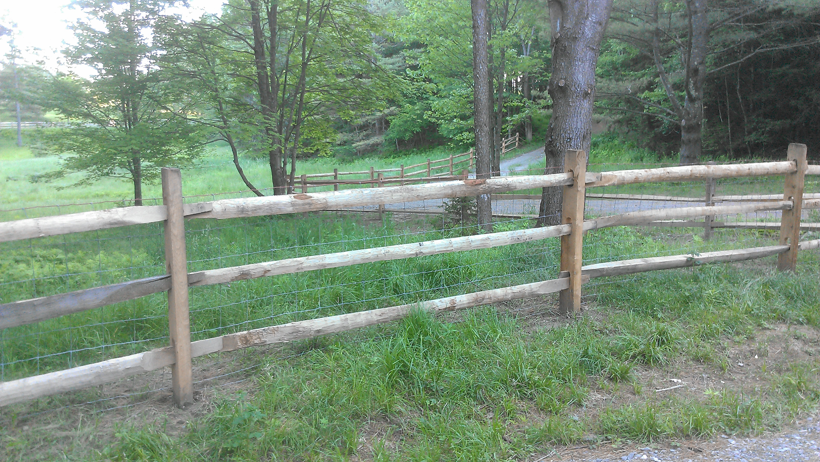 Rail Fencing – Gallup Brook Fencing – Northern Vermont Fence ...