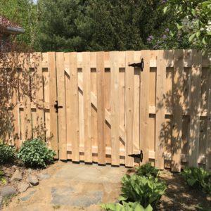 5' Cedar Shadowboard Gate