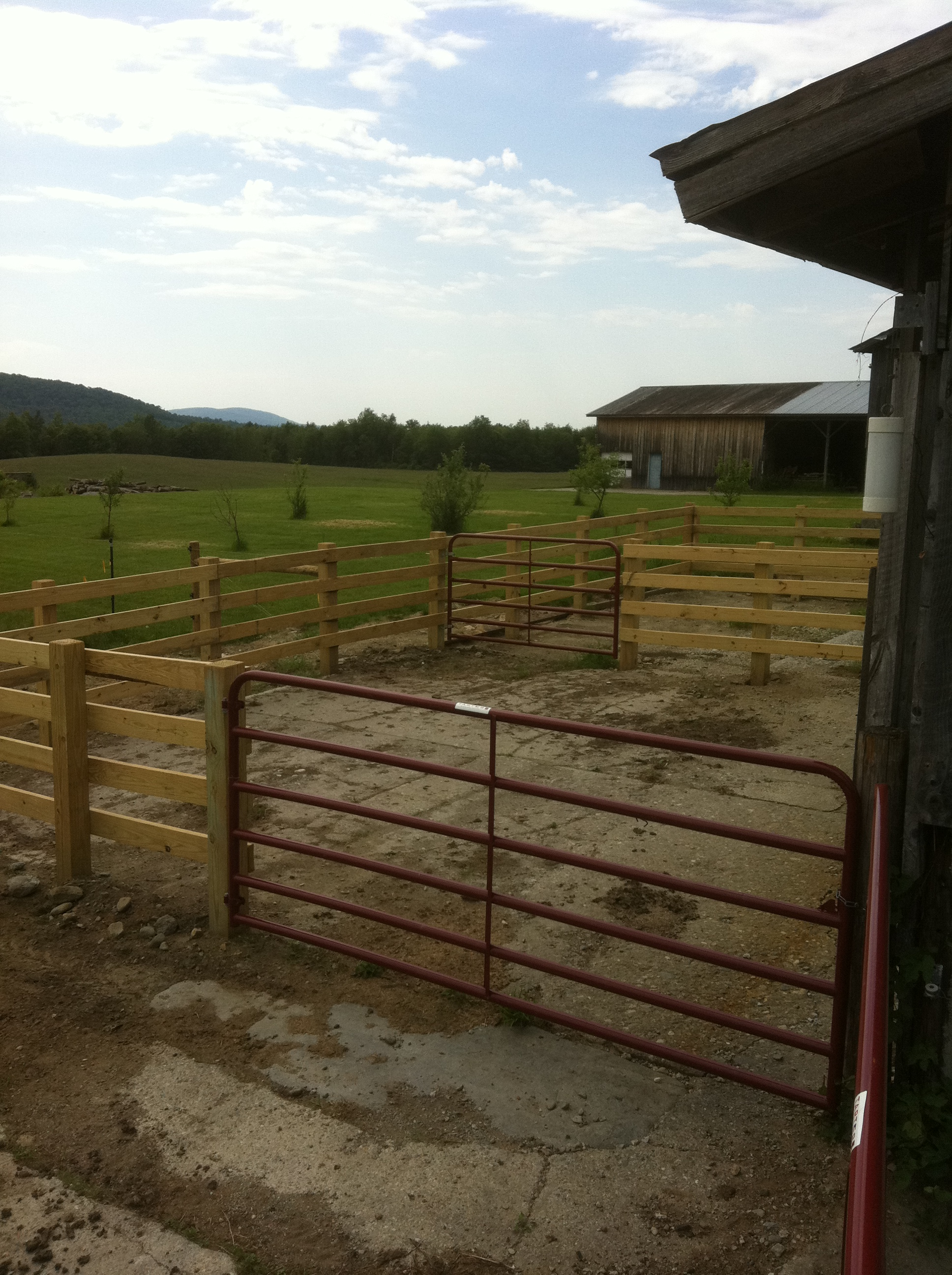 Agricultural Gallup Brook Fencing Llc Northern Vermont Fence Installation